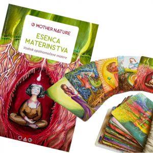 vrečka za karte Mother Nature, ženski krogi Mother Nature, mati narava, podcast za mamice